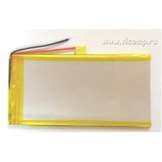 Батарейка для планшета 3*50*105mm (3000Mah)