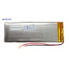 Батарейка для планшета 4*35*100mm (1800Mah)