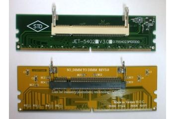 Переходник DDR2 Sodimm to DDR2