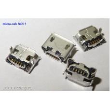 Разъем micro-usb 215