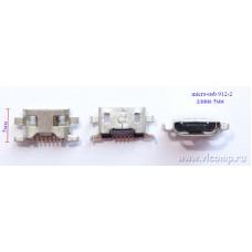 Разъем micro-usb 912-2 (5мм)