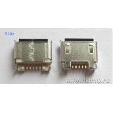Разъем micro-usb U202