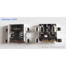 Разъем micro-usb Samsung s5260