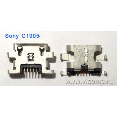 Разъем micro-usb Sony С1905