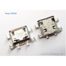 Разъем micro-usb Sony D2305
