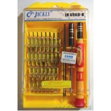 Набор отверток Jackly JK-6066B 33-in-1