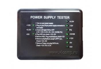Тестер блоков питания ATX     Power Supply tester (EZ-2)