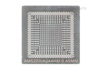 Трафарет BGA 769 (FT3)  AMD CPU AM5200IAJ44HM