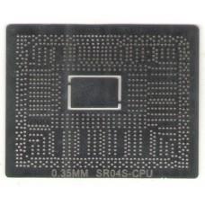 Трафарет Intel SR04S