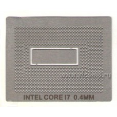 Трафарет Intel Core i7 BGA1224
