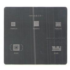 Трафарет для EMMC чипов памяти (5-in-1)