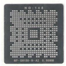 Трафарет Nvidia nforce G6150-N-A2