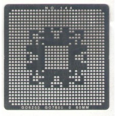 Трафарет Nvidia G86 серии