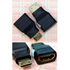 Переходник miniHDMI to HDMI (v1.4)